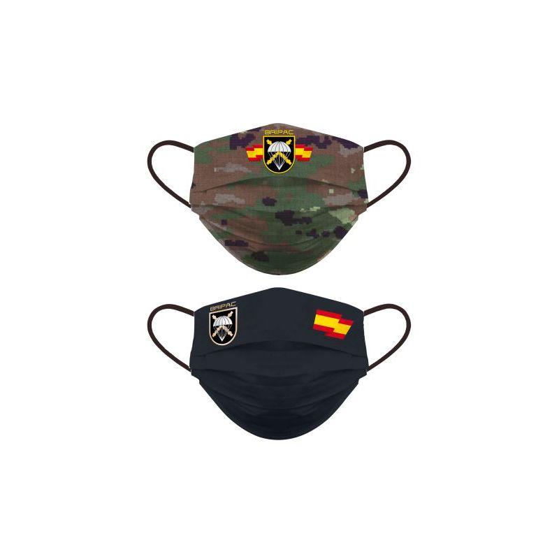Mascarilla Brigada Paracaidistas- Bripac Reversible