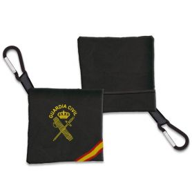 Portamascarilla Guardia Civil Negro con Bandera