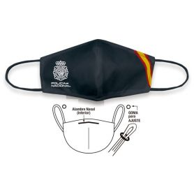 Mascarilla Policía Nacional Higiénicas Reutilizable