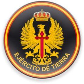 Imán Frigo Redondo Ejército de Tierra Tamaño 5,00 cm