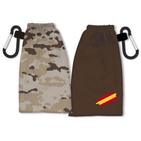Portamascarilla Militar Árida Reversible