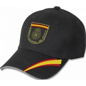 Gorra Policia Nacional Negra Colección