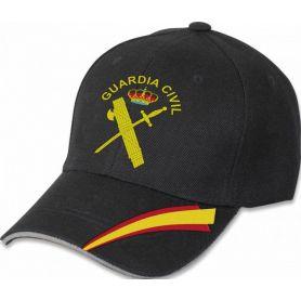 Gorra Guardia Civil Negra Colección