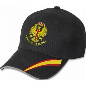 Gorra Ejército de Tierra Negra