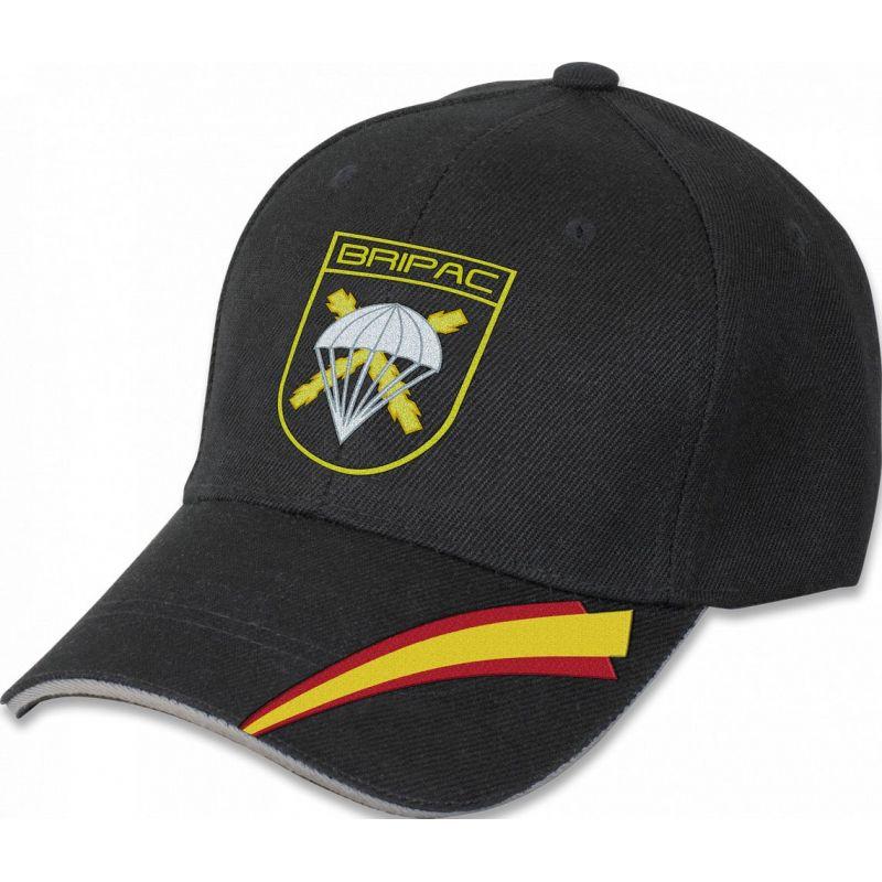 Gorra Brigada Paracaidista Negra