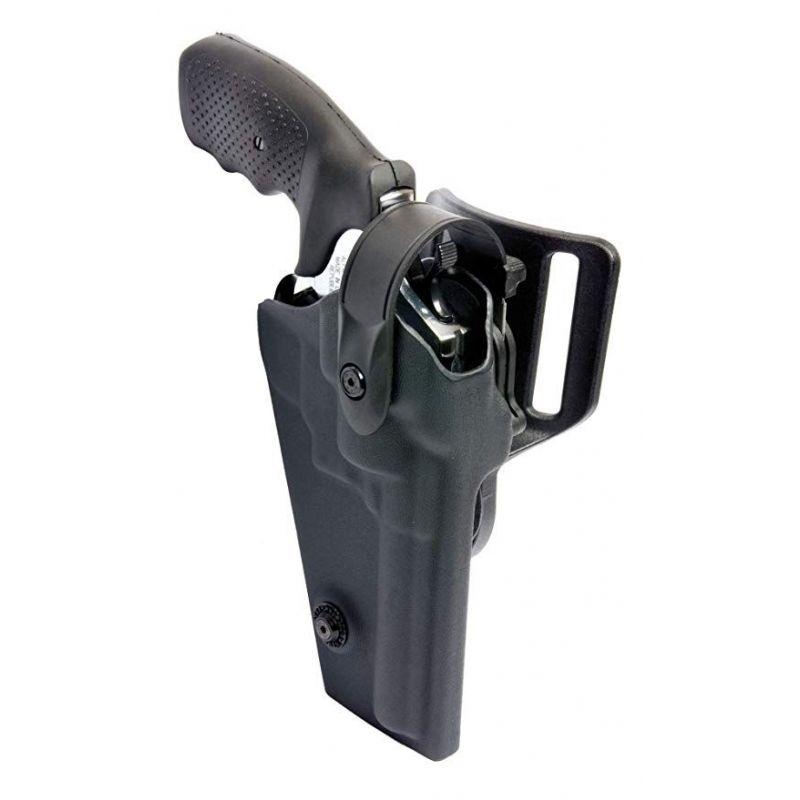 Funda Revolver De Polimero Para Vigilante Seguridad 4 Pulgadas Vega Holster