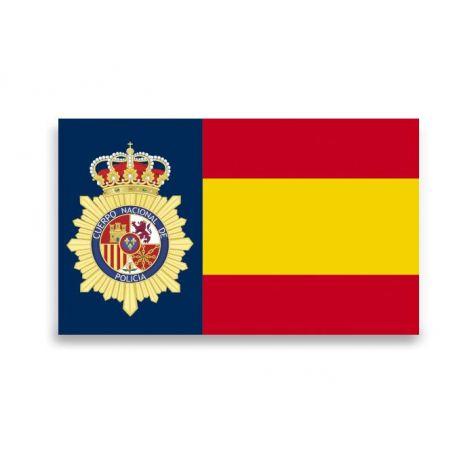 Pegatina Gota Cera España Policía Nacional Grande 45x27 mm