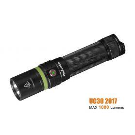 Linterna Recargable 960 lúmenes fénix UC30