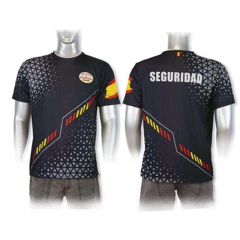 Camiseta Seguridad Privada 100% Transpirable