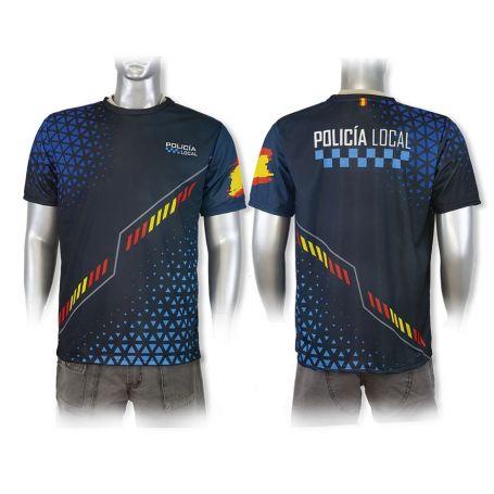 Camiseta Policía Local Ajuste Deportivo