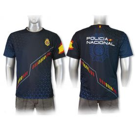 Camiseta Policía Nacional Modelo Deportivo