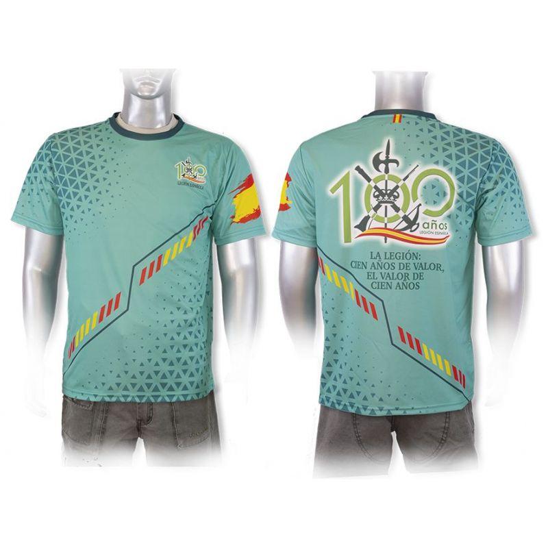 Camiseta Legión 100 Aniversario Ajuste Deportivo