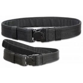 Cinturon Policial Talla S-M Negro con Hebilla Seguridad