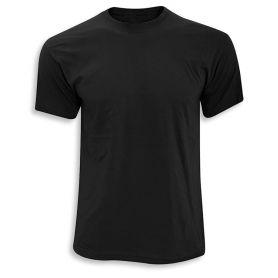 Camiseta Básica Negra 100% Algodón