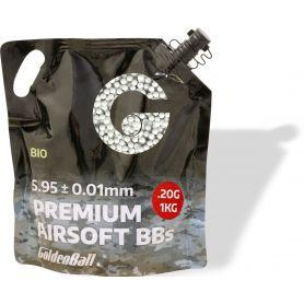 Bolas Airsoft Blancas Biodegradables