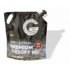 Bolas Airsoft Blancas Biodegradables Presión 0,28 Gramos