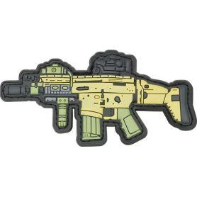 Parche Arma Tamaño 10,3 x 5,3 cm