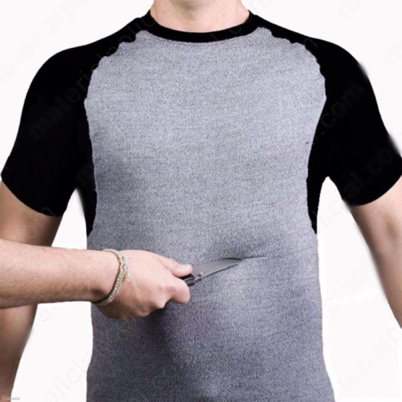 Camiseta anticortes manga corta