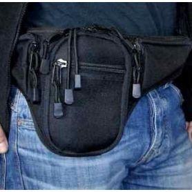 Riñonera con compartimento rápido para pistola +cargador