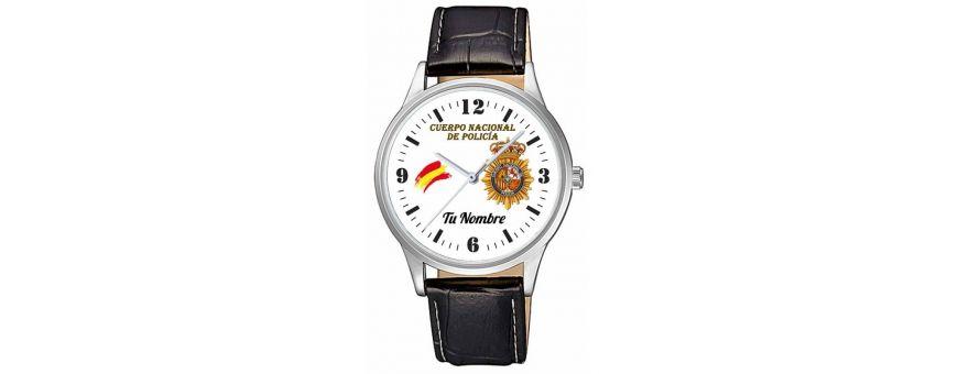 Relojes policiales, militares personalizados para regalo despedidas