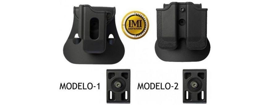 Fundas Cargadores de Pistola con Seguridad para Cinturón Policial