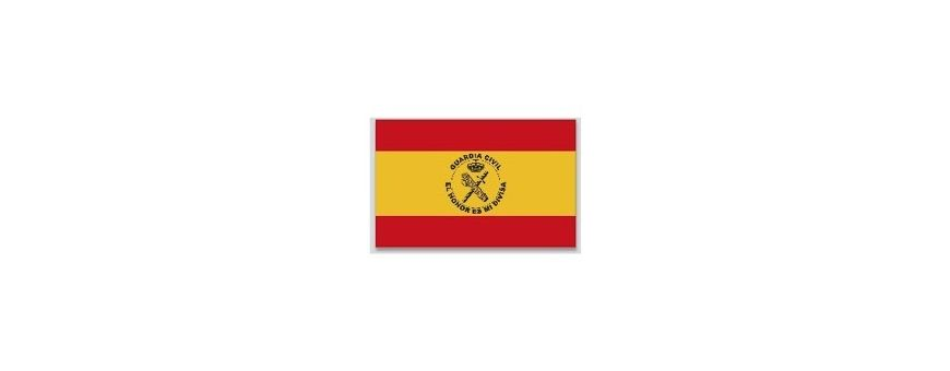 Bandera españa, banderas militares, bandera guardia civil, bandera
