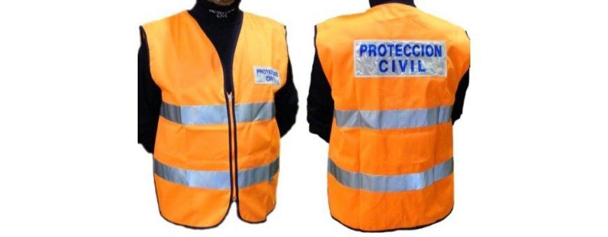 Material Protección Civil, vestuario protección civil, gorras protección