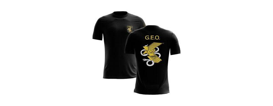 Camiseta militares