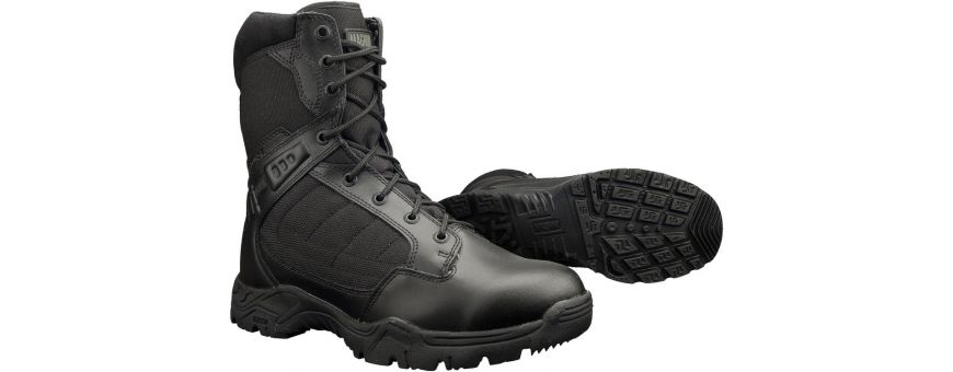 Bota Policial, Zapatos Policiales, Calzado Vigilantes, Calzado Policia