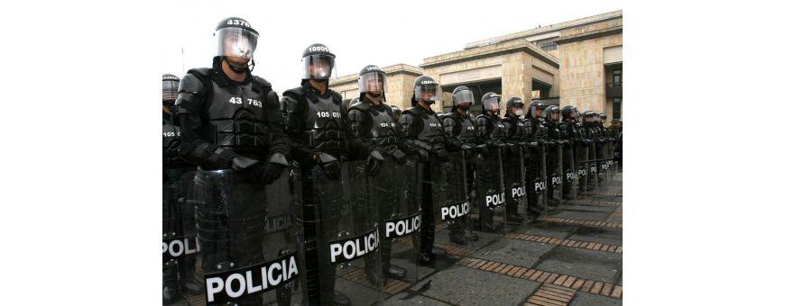 material antidisturbios, material polcial, articulos polciales, guardia civil, policia nacional, policia local