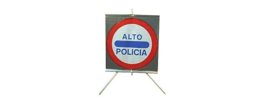 Señalización policial de Trafico- Luces-Rotativos